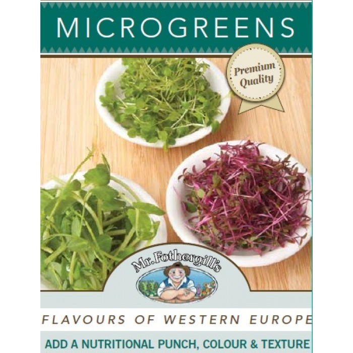 Microgreens Flavours of Western Europe image