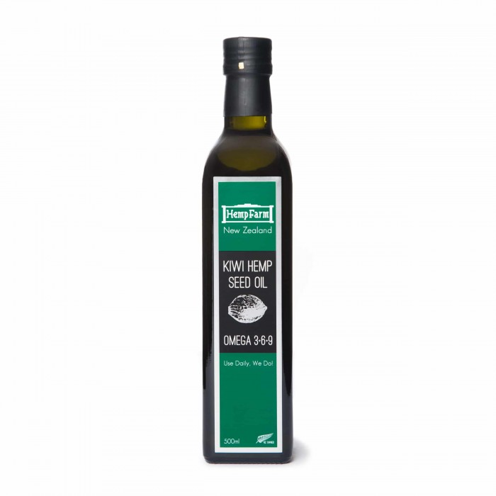 Hemp Farm NZ 500ml NZ Hemp Oil image