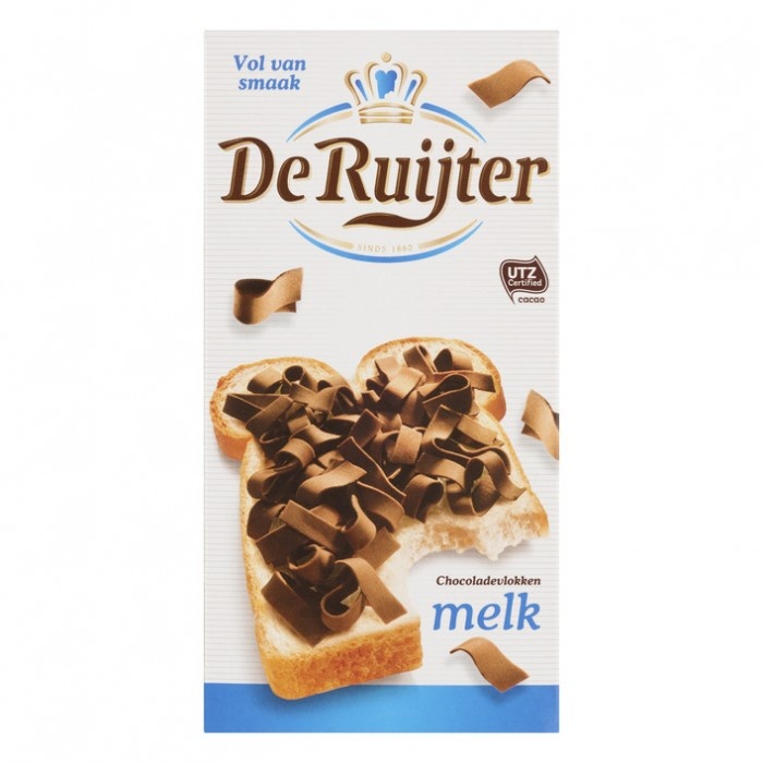 De Ruijter Chocolate Flakes Milk 300g image
