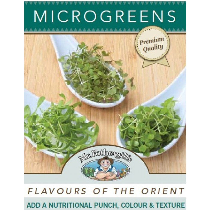 Microgreens Flavours of the Orient image