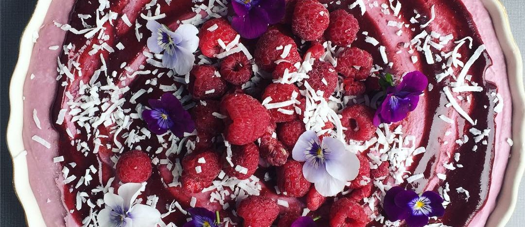 Raw Maca Berry Cheesecake