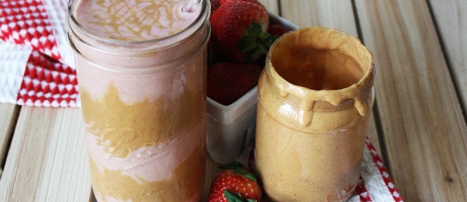 Peanut Butter And J Smoothie