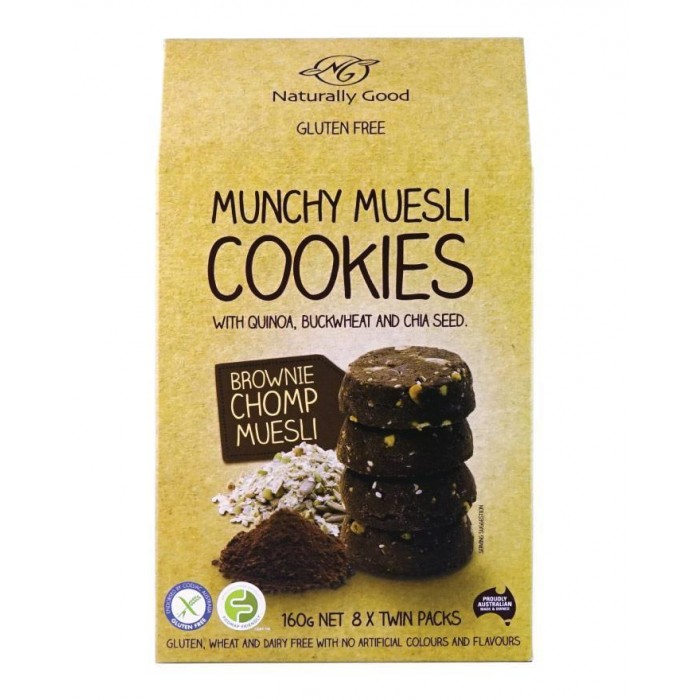 Munchy Muesli Cookie Brownie 160g image