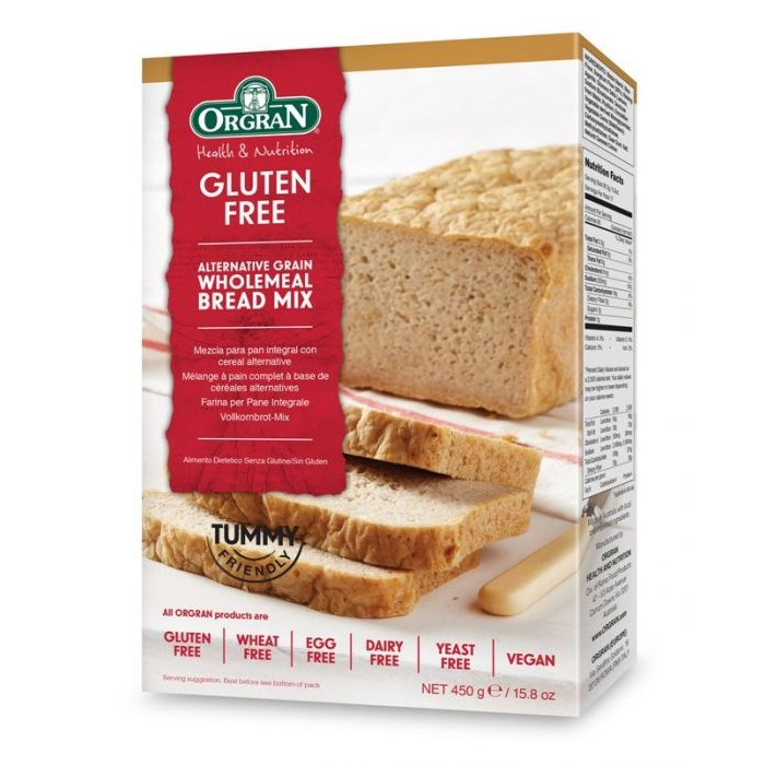Alternative Grain Wholemeal Bread Mix 450g image