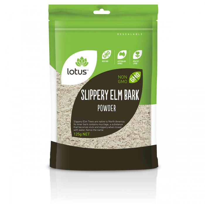 Slippery Elm Bark Powder 125g image