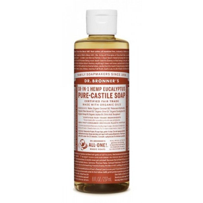 Pure Castile Liquid Soap Eucalyptus 237ml image