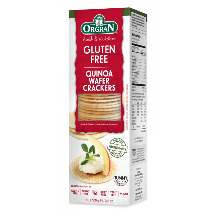 Quinoa Wafer Crackers 100g image