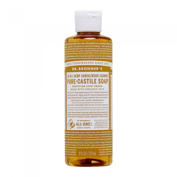 Pure Castile Liquid Soap Sandalwood & Jasmine 237ml image