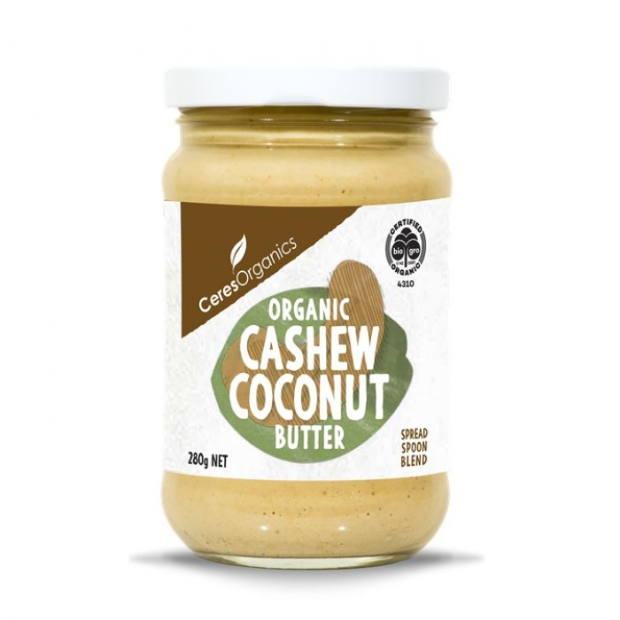 Organic Cashew Coconut Butter 280g image