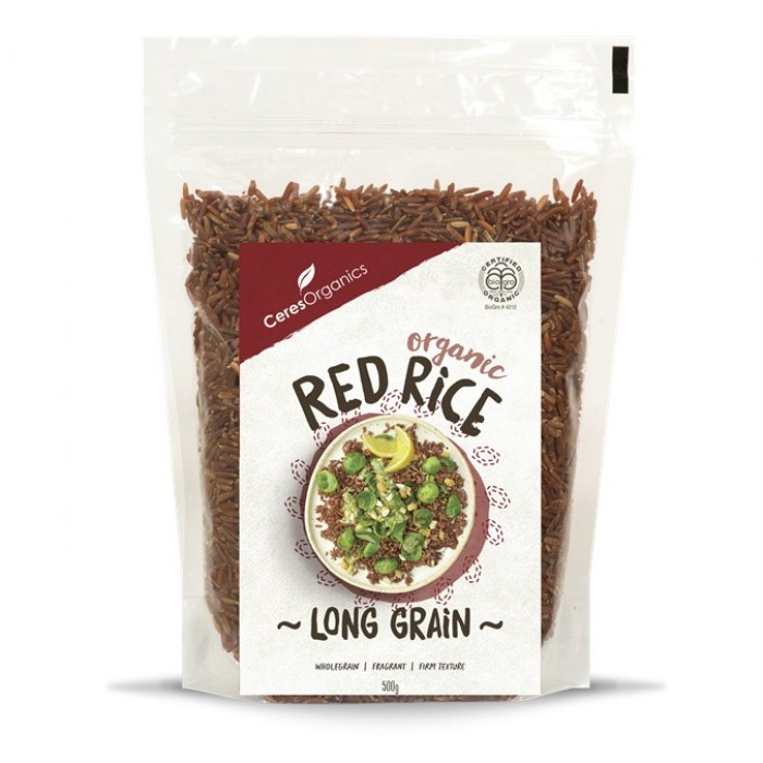 Organic Red Rice 500g image