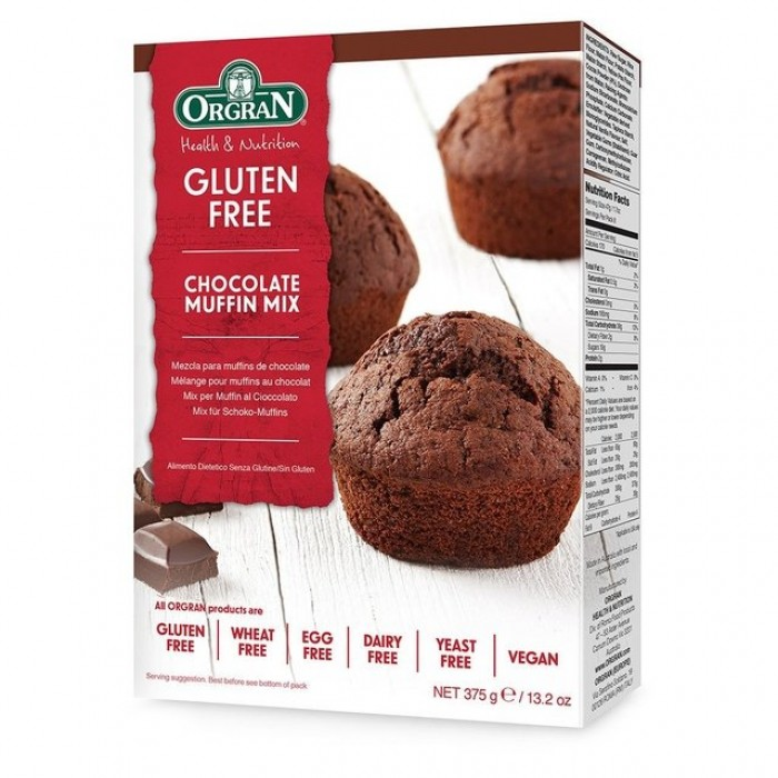 Chocolate Muffin Mix 375g image