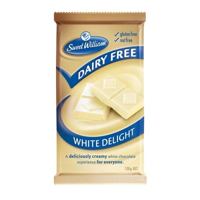 Dairy Free White Delight Chocolate image