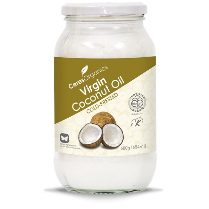 Organic Coconut Oil, Virgin Cold-Pressed 600g image