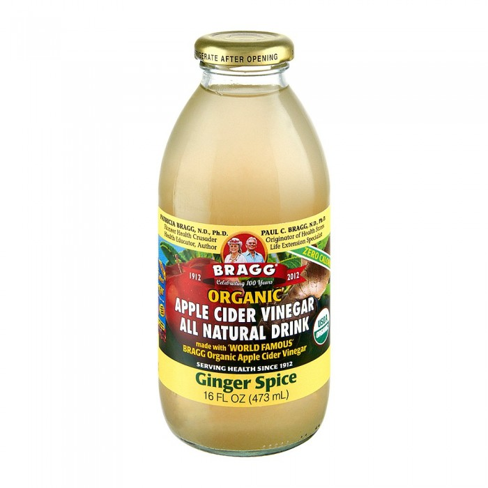 Apple Cider Vinegar Drink Ginger Spice 473ml image