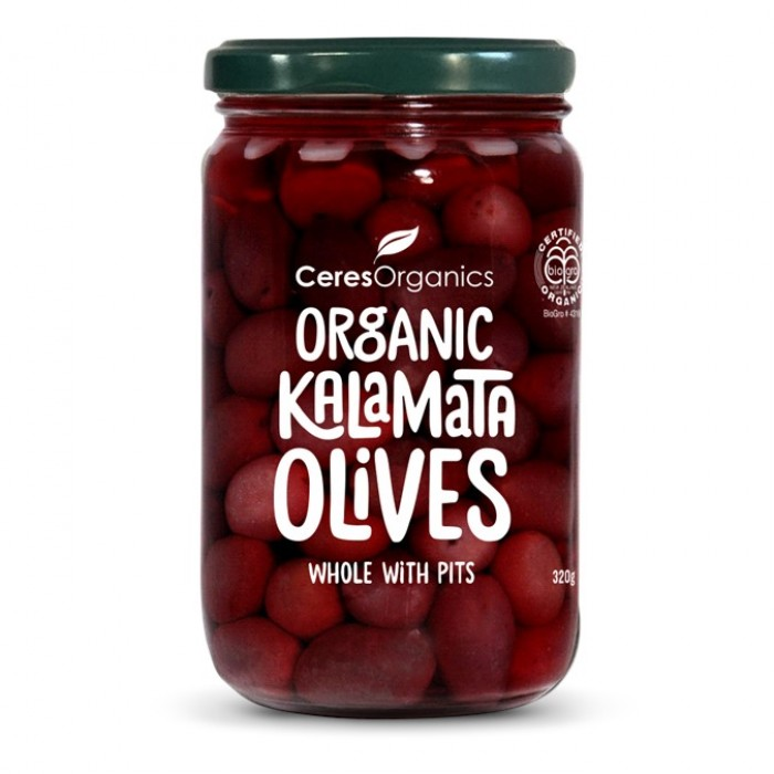 Organic Kalamata Olives, Whole With Pits image