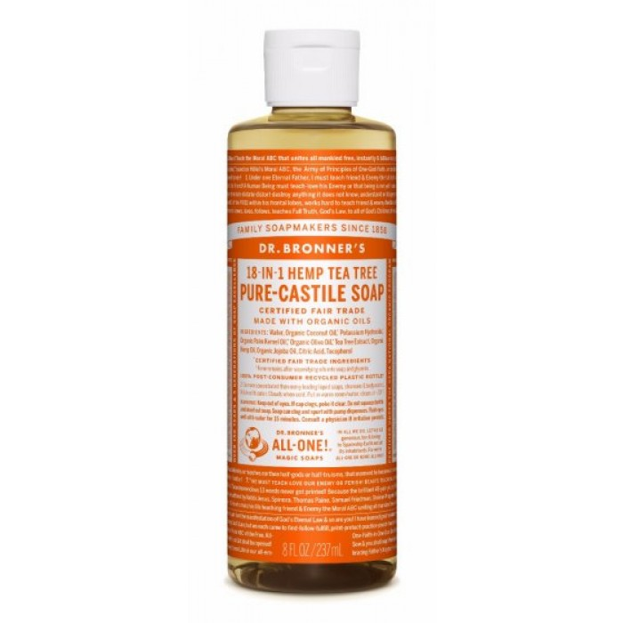 Pure Castile Liquid Soap Tea Tree 237ml image